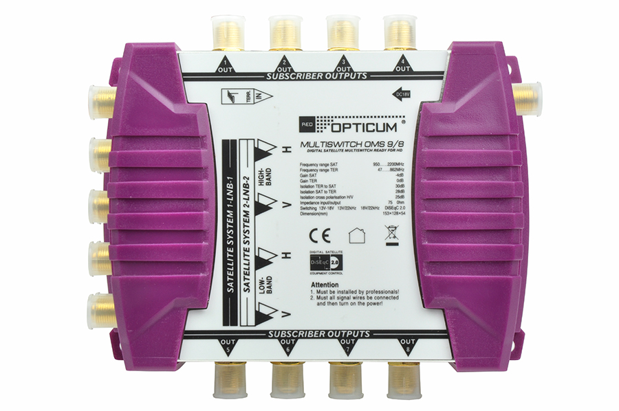 Multiswitch Opticum OMS 9/8