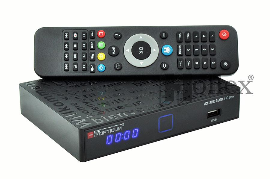 Odbiornik Opticum 4K AX UHD 1500