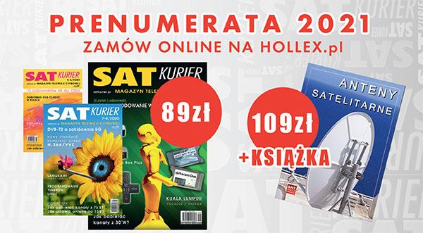 'SAT Kurier' abonament za 2021 rok