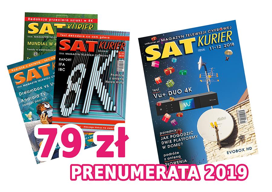 'SAT Kurier' abonament za 2019 rok