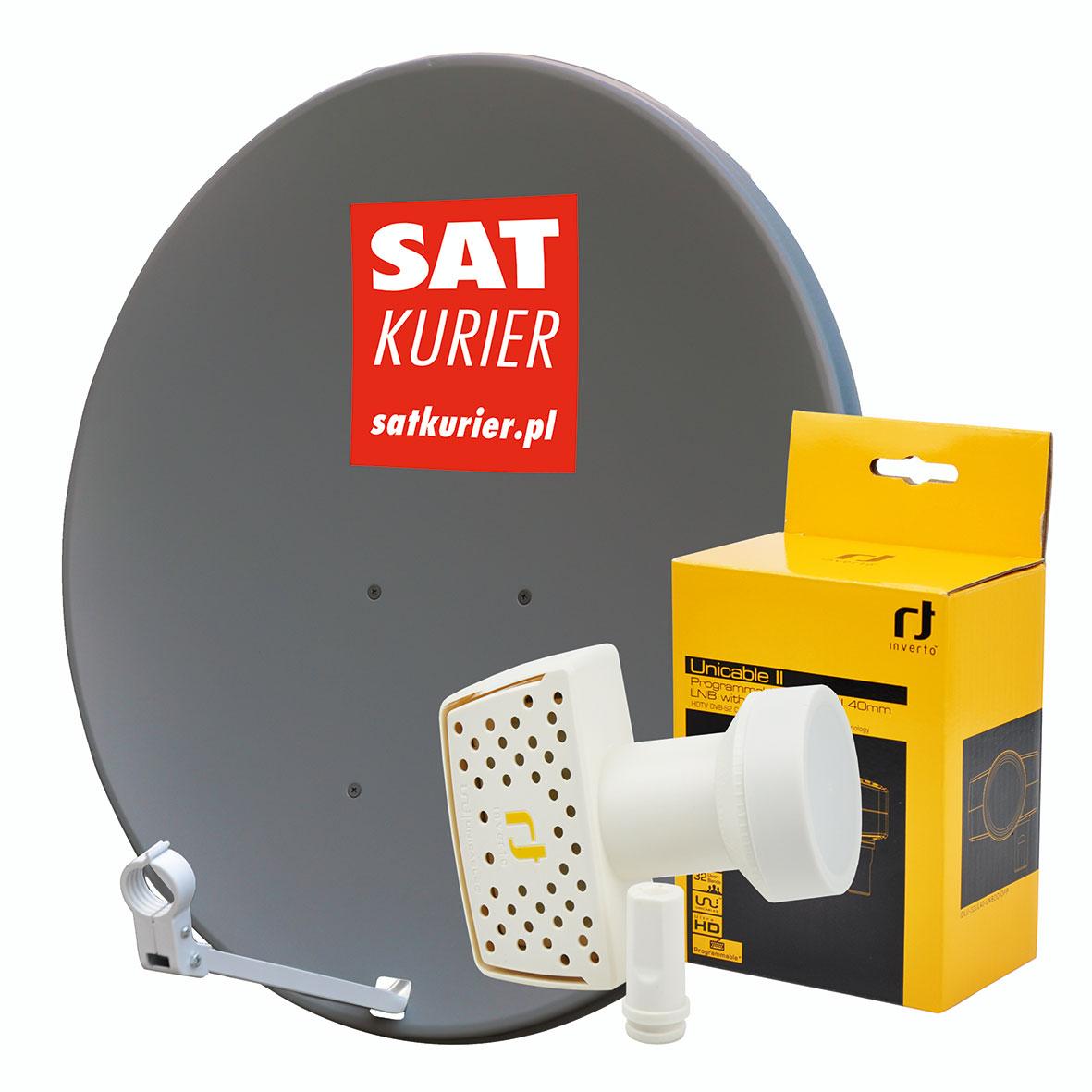 Antena COR-900 + Unicable II LNB