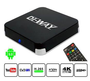 Mini PC Android Di-Way AND-4x4 z tunerem 4K DVB-T2 H.265