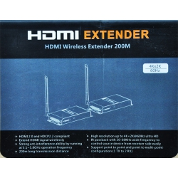 Transmiter HDMI LKV398 4K do max. 200m