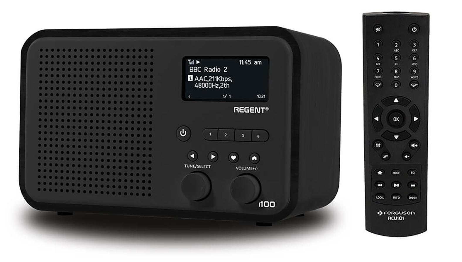 Ferguson REGENT i100 FM, DAB+, BT, Wi-Fi, Radio internetowe