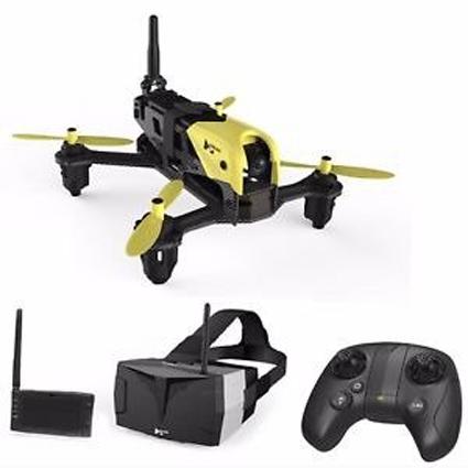 Dron wyścigowy Hubsan H122D X4 Storm FPV + Gogle + LCD