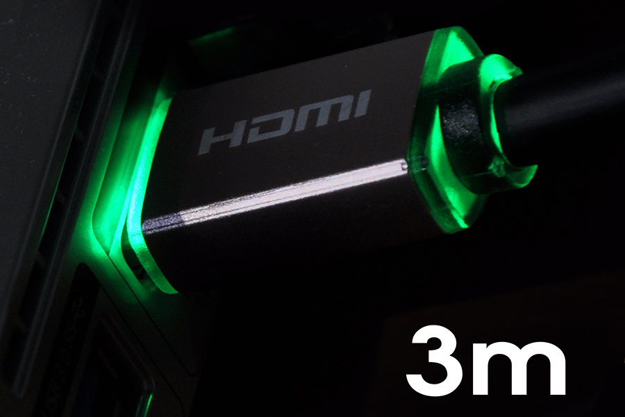Kabel HDMI 2.0 4K Light 3,0m