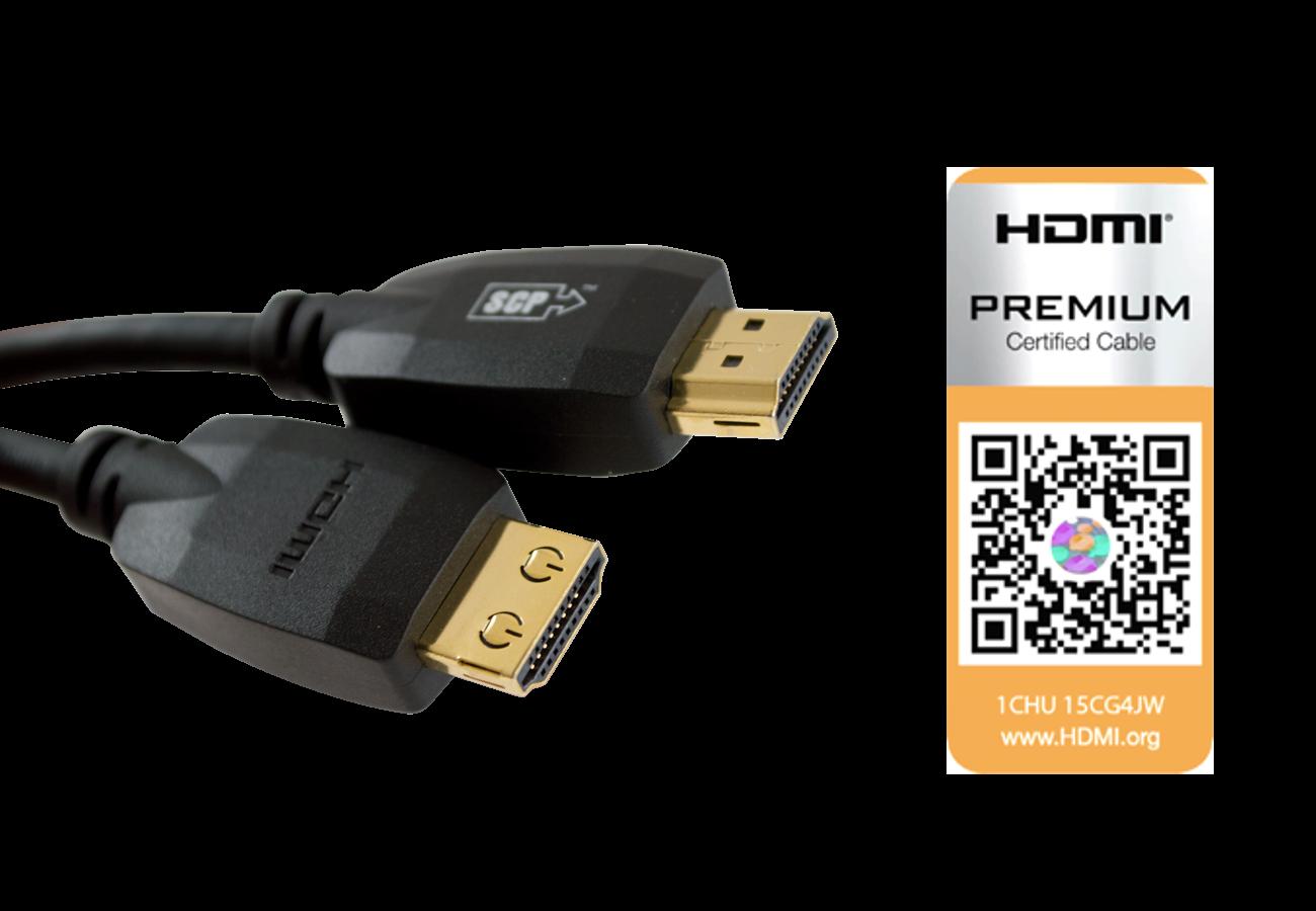 Kabel HDMI 2.0 4K SCP990UHD 0,9m
