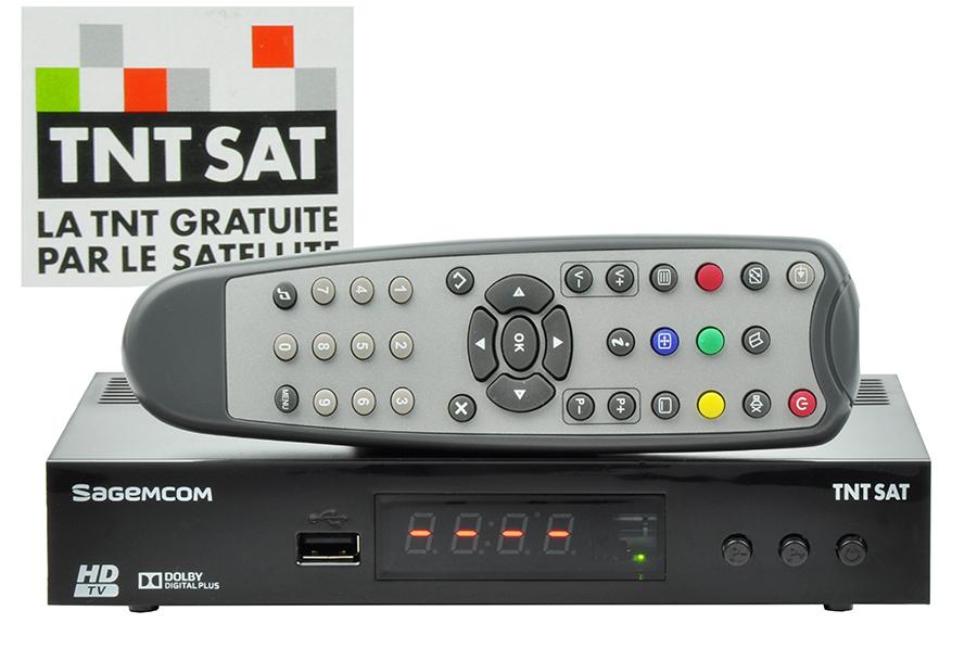 TNT Sat: dekoder Sagemcom HD + karta