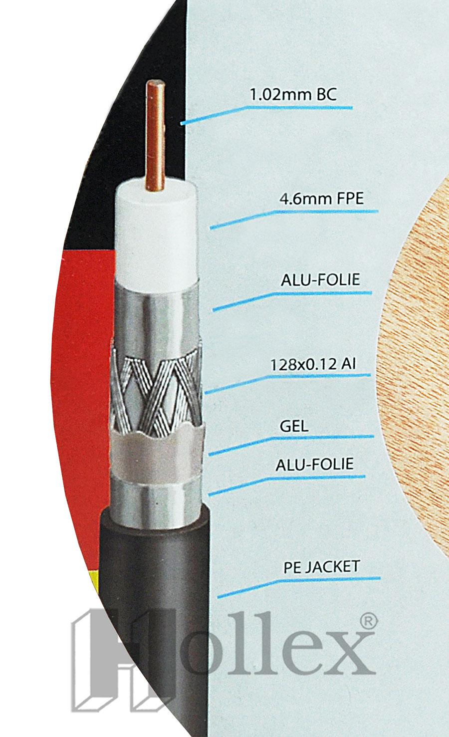 Kabel AnkaSat ANK SK-CU G120 1m