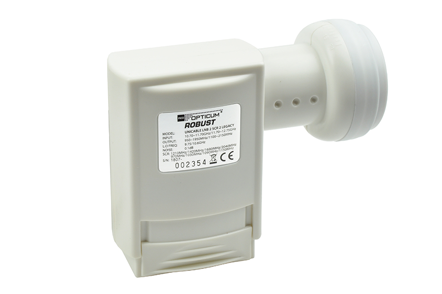 Konwerter Unicable Opticum Legacy Twin LNB SCR2 UNC2