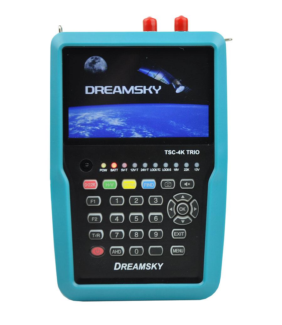 Miernik Dreamsky TSC-4K TRIO DVB-S2/T2/C2