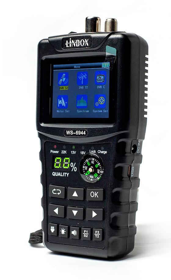 Miernik Linbox WS-6944 Combo dla DVB-S/S2/T/T2/C2