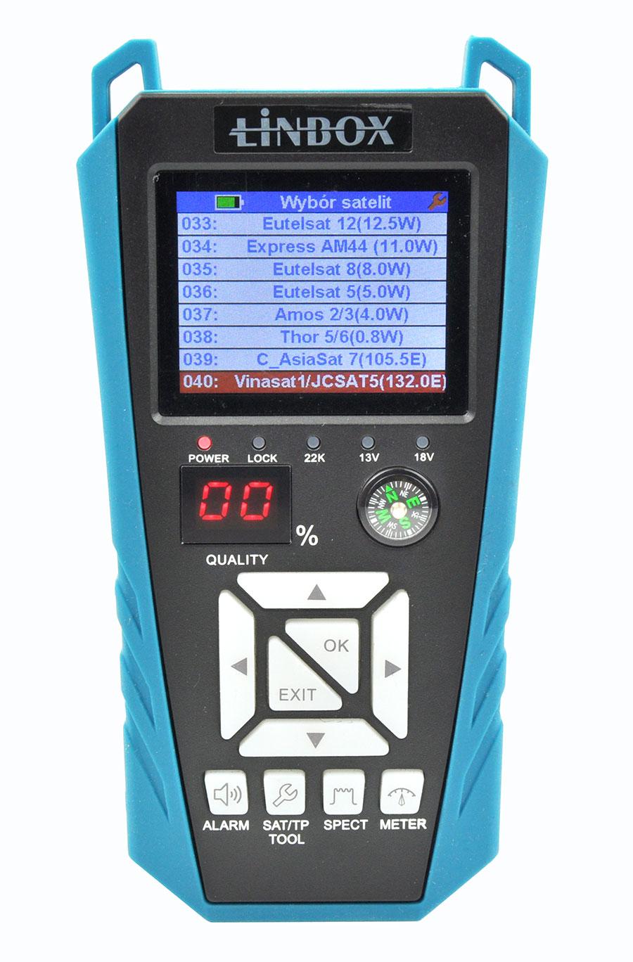 Miernik Linbox WS-6934 dla DVB-S/S2