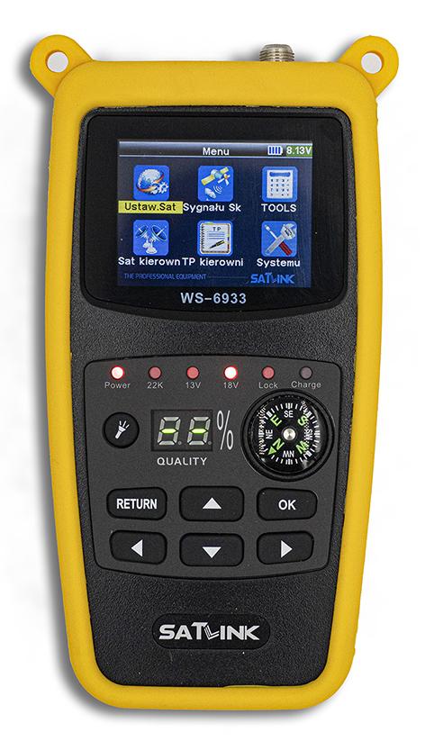 Miernik SatLink WS-6933 dla DVB-S/S2