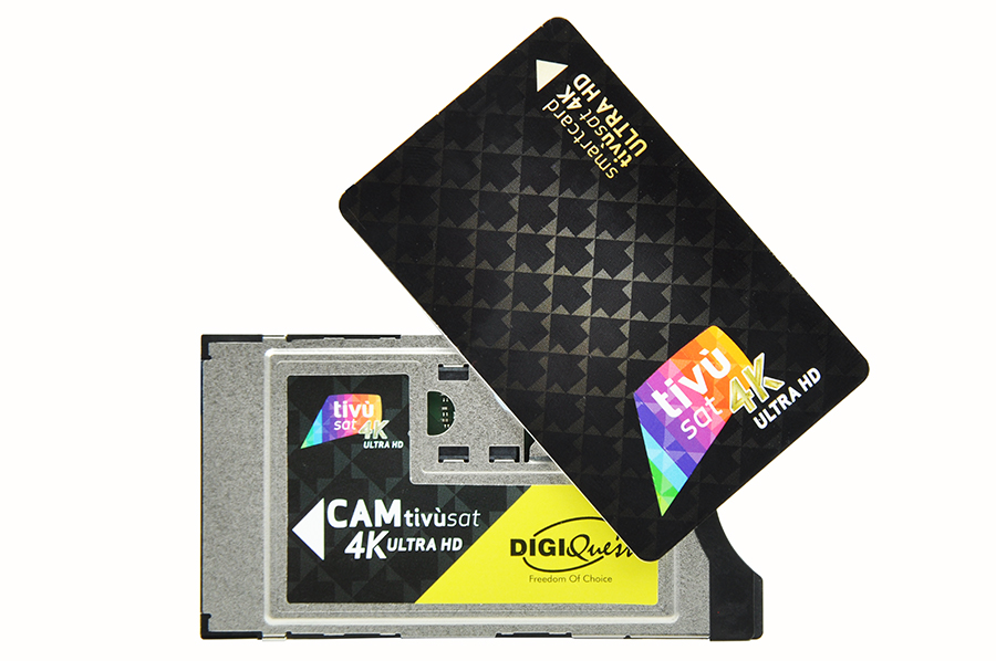 Tivusat: Black card + CAM w UHD