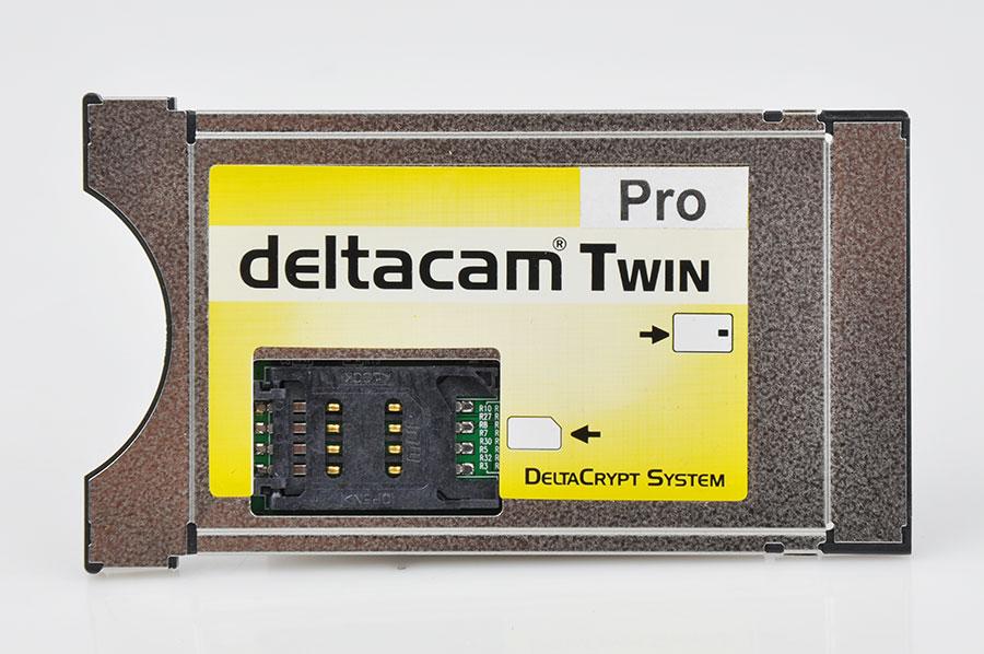 Moduł DeltaCam Pro Twin REV 2.0 Deltacrypt CI
