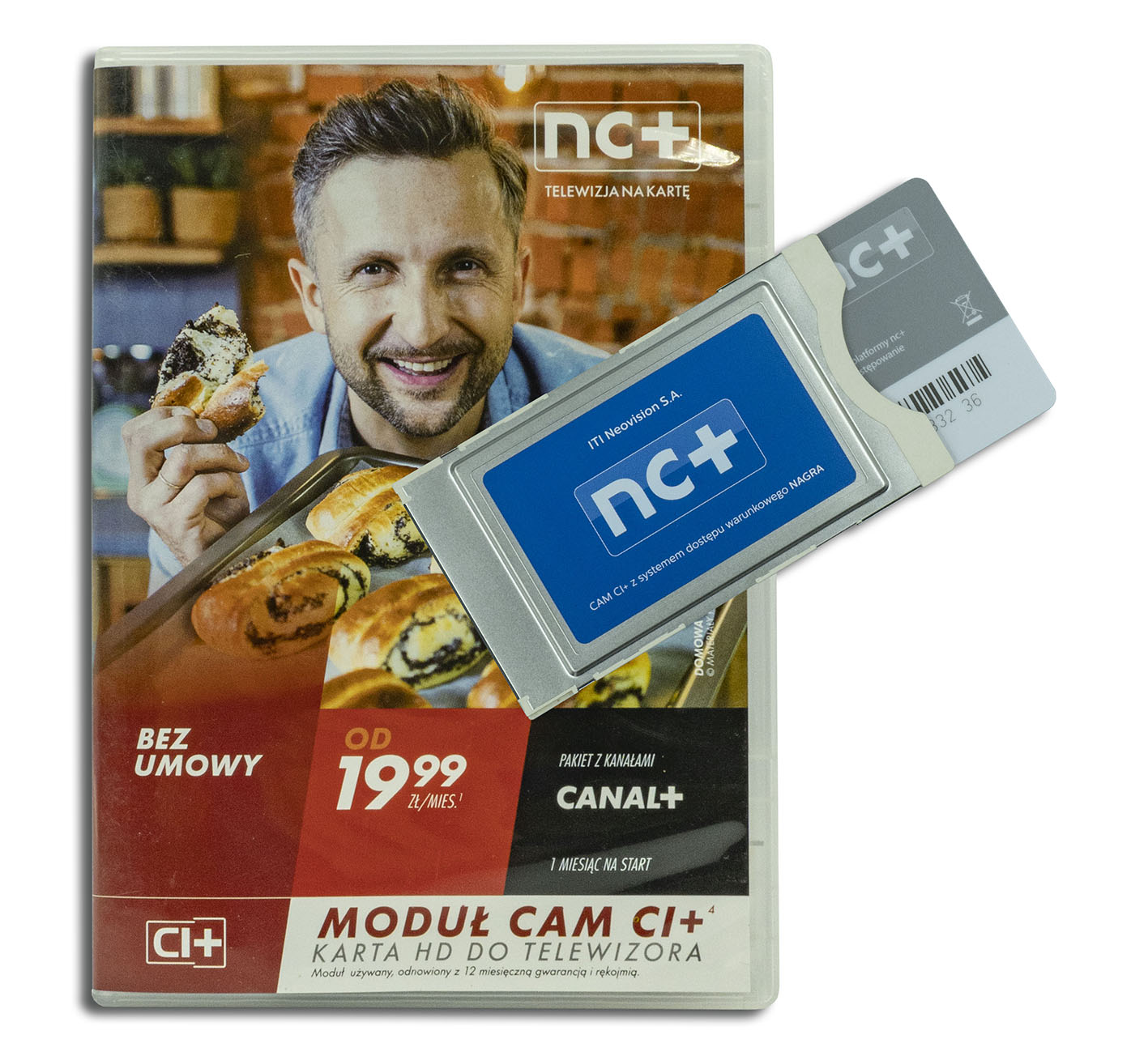 nc+ telewizja na kartę + moduł CI+