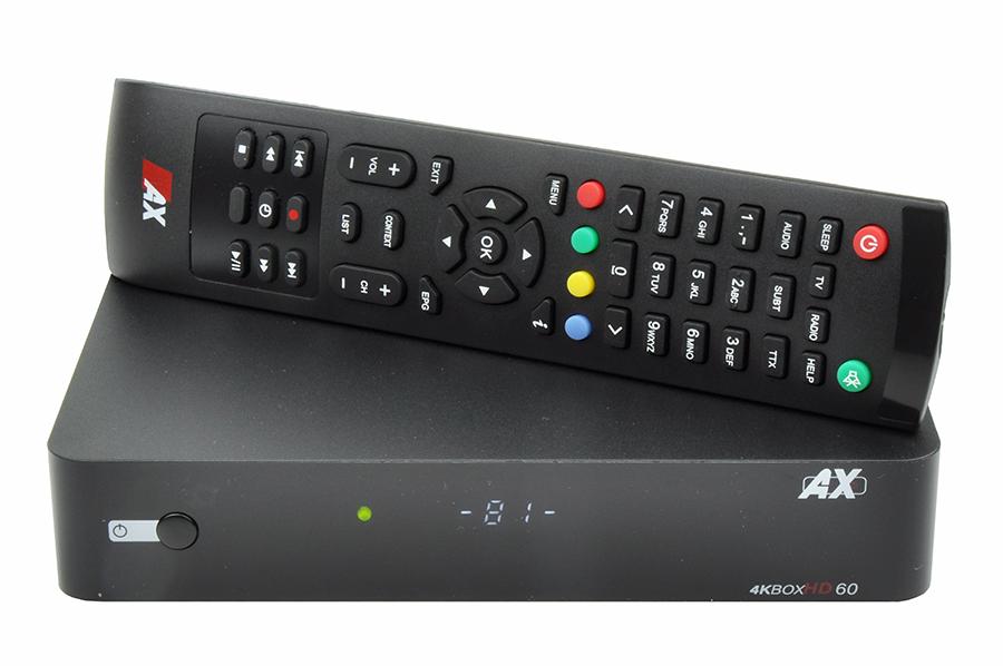 Odbiornik AX 4KBOX HD60 S2X