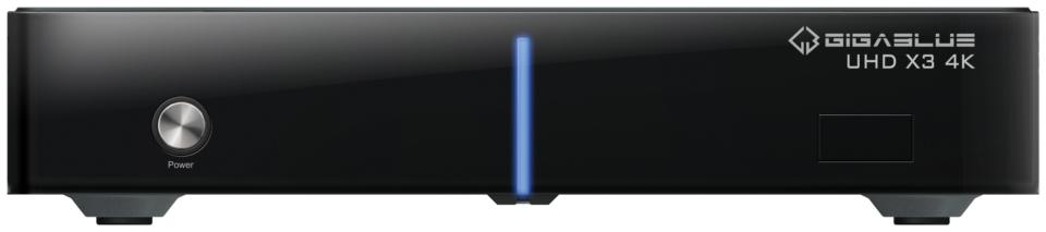 Odbiornik GiGaBlue UHD X3 4K