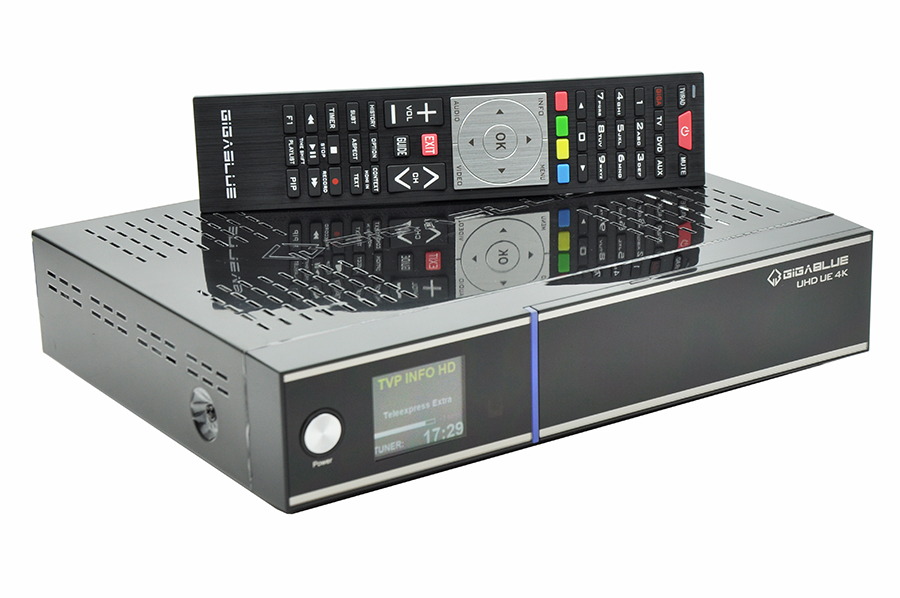 Odbiornik GiGaBlue UHD UE 4K