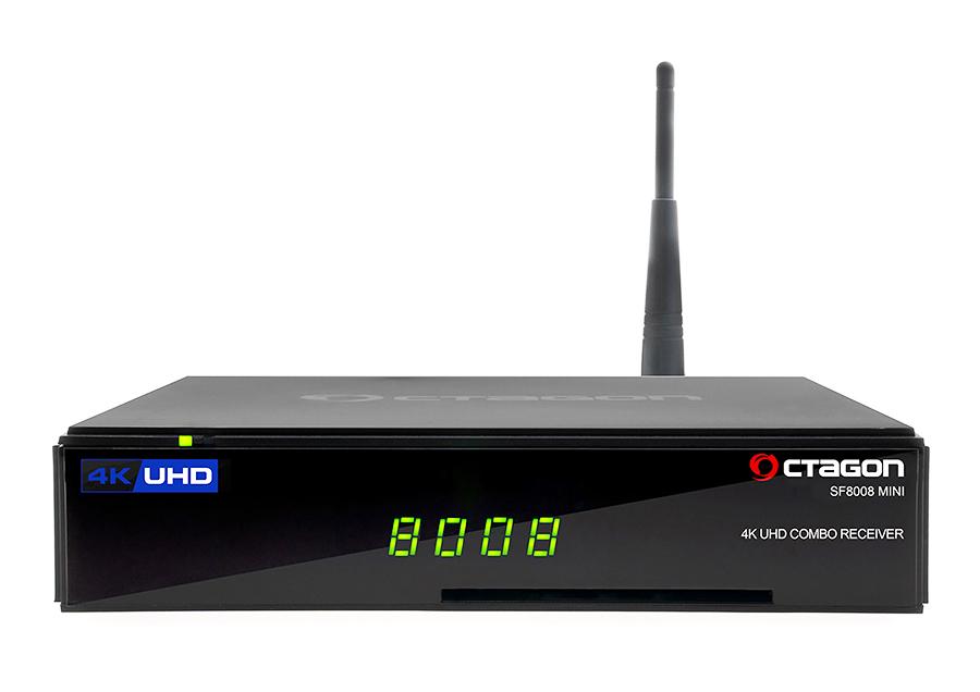 Odbiornik Octagon SF8008 Mini Combo UHD 4K S2X - Netflix