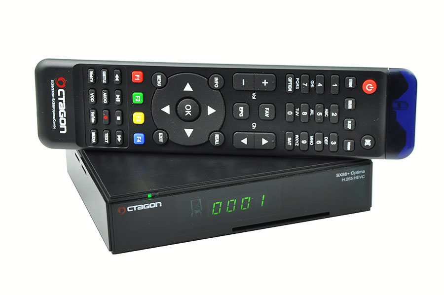 Odbiornik Octagon SX88+ Optima HEVC HD+IP Multistream