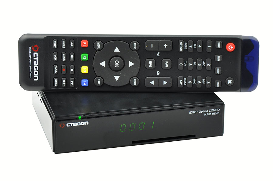 Odbiornik Octagon SX88+ Optima Combo HEVC HD+IP Multistream
