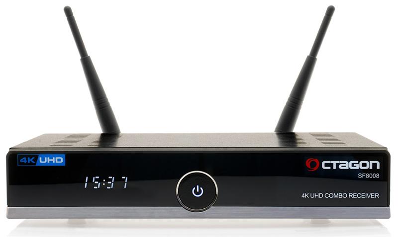 Odbiornik Octagon SF8008 Combo UHD 4K S2X - Netflix