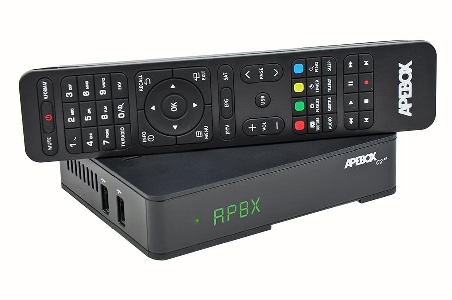 Odbiornik Apebox C2 4K Combo