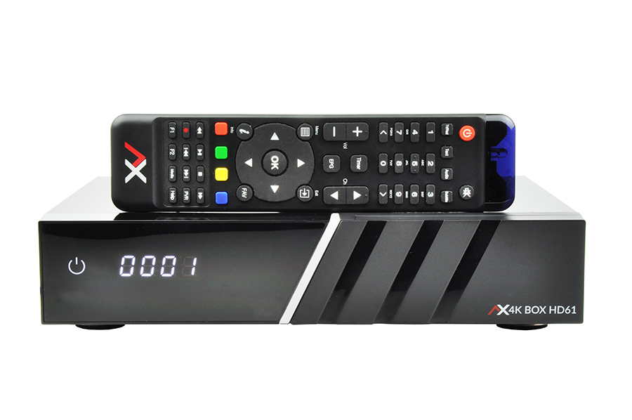 Odbiornik AX 4KBOX HD61 Twin
