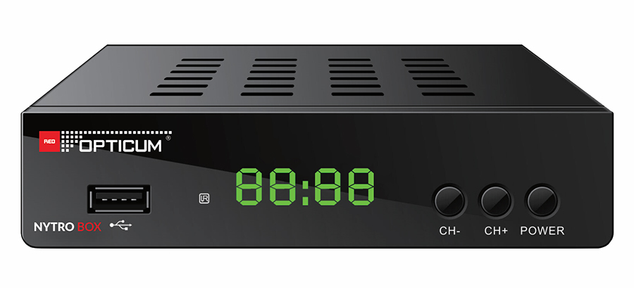 Odbiornik DVB-T/T2 Opticum Nytro Box HEVC