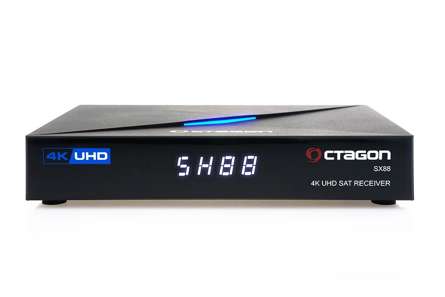 Odbiornik Octagon SX88 4K UHD S2 + IP