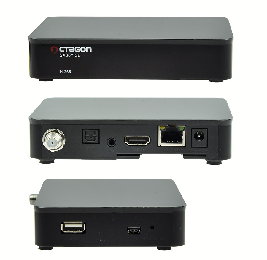 Odbiornik Octagon SX88+ SE HEVC HD Multistream