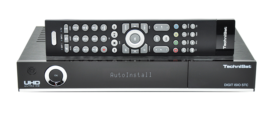 Odbiornik TechniSat Digit ISIO STC UHD 4K Black