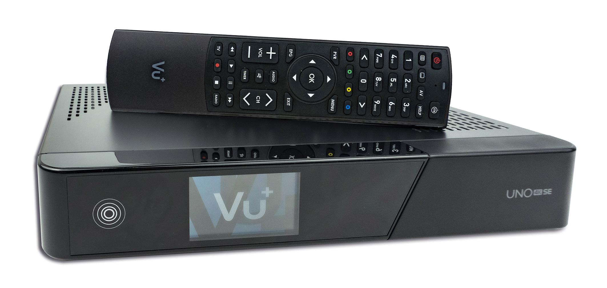 Odbiornik Vu+ UNO 4K SE S2X FBC Multistream