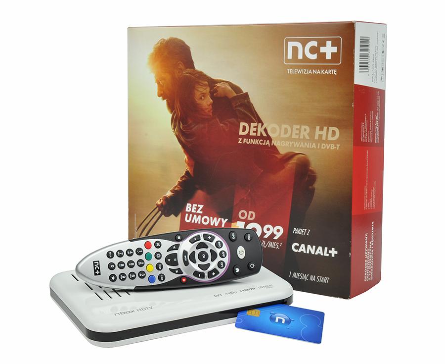 Zestaw nc+ telewizja na kartę: ITI 2850ST + pakiet Start+1m