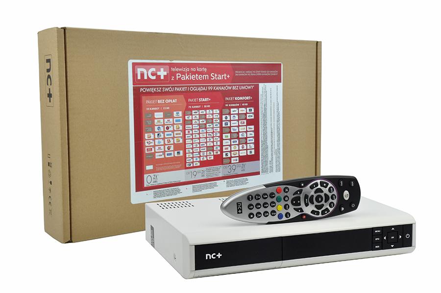 Zestaw nc+ telewizja na kartę: ADB 5800S + pakiet Start+1m
