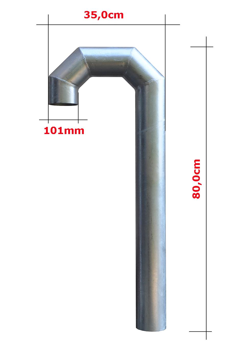 Przepust dachowy średnicy 101mm
